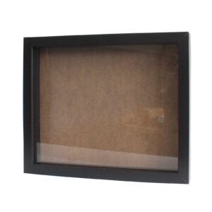 Deep Box Frame Large Portrait 25x30cm Black Deep Box Frames