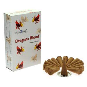 Dragons Blood Cones Stamford Premium Incense Cones