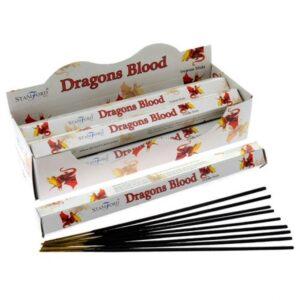 Dragons Blood Premium Incense Stamford Premium Hex