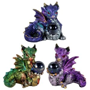 Elements Dragon wit All Seeing Orb Dark Legends Dragons