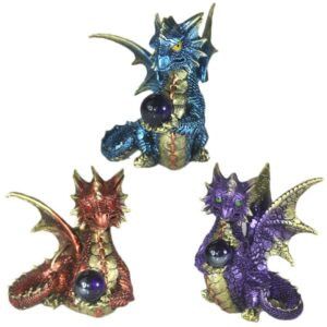 Enchanted Nightmare Dragon Elements Crystal Dark Legends Dragons