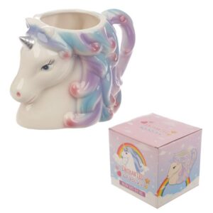 Enchanted Rainbows Unicorn Head Mug Mugs as Gifts