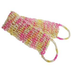 Fat Springy Stringy Back Scrub Colours Luxury Scrubs & Sponges