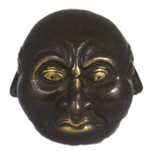 Fengshui Four Face Buddha 10cm Brass Fengshui Objects