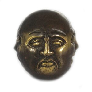 Fengshui Four Face Buddha 4.5cm Brass Fengshui Objects