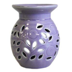 Floral Oil Burner Lavender OBSimple