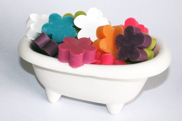 Flower Guest Soaps Lily of the Valley Flower Shaped
