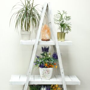 "Folding ""A"" Frame Display Whitewash Retail Display Stands"
