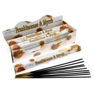 Frankincense and Myrrh Premium Incense Stamford Premium Hex