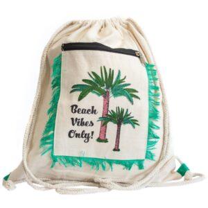 Fringe Backpack Palm Trees Fringe Backpacks