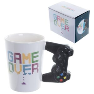 GAME OVER Game Controller Shaped Handle Mug Mugs as Gifts