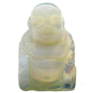 Gemstone Buddha Opalite Gemstone Figures