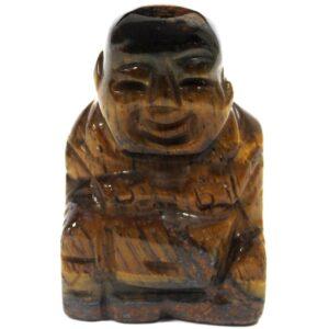Gemstone Buddha Tiger Eye Gemstone Figures