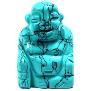 Gemstone Buddha Turquoise Gemstone Figures