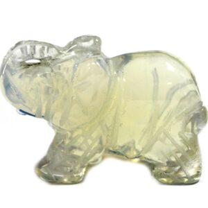 Gemstone Elephant Opalite Gemstone Figures