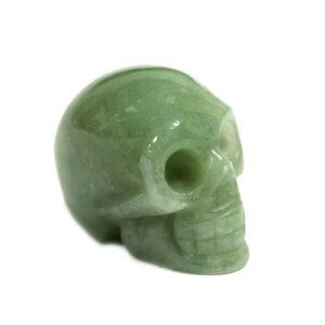 Gemstone Skull Jade Gemstone Figures
