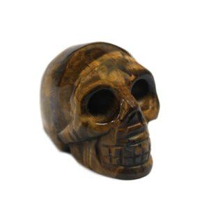 Gemstone Skull Tiger Eye Gemstone Figures