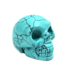 Gemstone Skull Turquoise Gemstone Figures