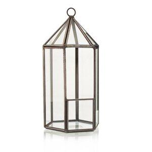 Glass Terrarium Lantern Shape Glass Terrariums