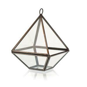 Glass Terrarium Small Diamond Glass Terrariums