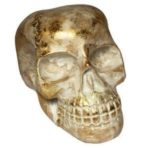 Glitter Resin Skull White While Stocks Last