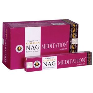Golden Nag MEDITATION Golden Nagchampa