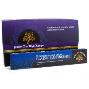 Golden Tree Nag Champa Incense Classic Blue Golden Tree Nag Champa Incense Sticks