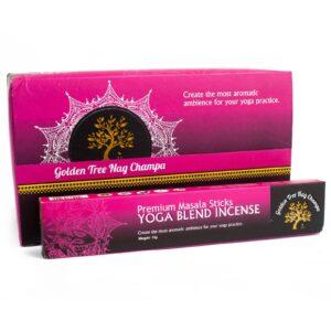 Golden Tree Nag Champa Incense Yoga Blend Golden Tree Nag Champa Incense Sticks