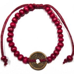 Good Luck Feng Shui Bracelets Red Bali Good Luck Feng Shui Bracelets