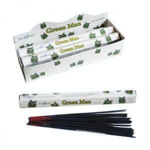 Green Man Premium Incense Stamford Premium Hex