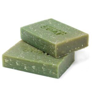 Greenman Soap Slice 100g Gardener's Scrub Greenman Soaps