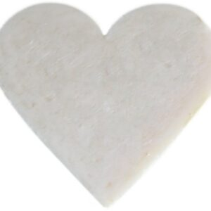 Heart Guest Soap Coconut Heart Shaped Guest Soaps (10PCS)