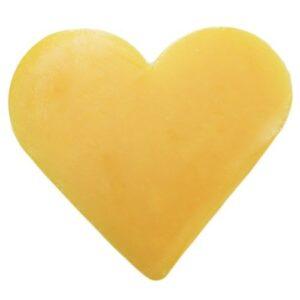 Heart Guest Soap Grapefruit Heart Shaped Guest Soaps (10PCS)