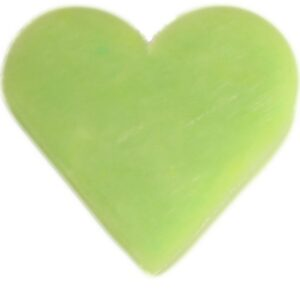 Heart Guest Soap Green Tea Heart Shaped Guest Soaps (10PCS)