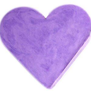 Heart Guest Soap Lavender Heart Shaped Guest Soaps (10PCS)