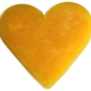 Heart Guest Soap Orange and Warm Ginger Heart Shaped Guest Soaps (10PCS)