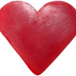 Heart Guest Soap Raspberry Heart Shaped Guest Soaps (10PCS)