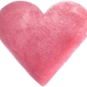 Heart Guest Soap Wild Rose Heart Shaped Guest Soaps (10PCS)