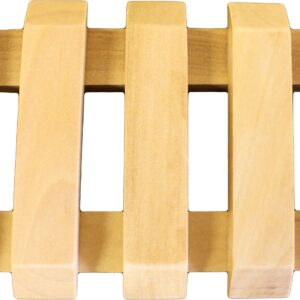 Hemu Wood Soap Dishes Slotted Wooden Soap Dishes