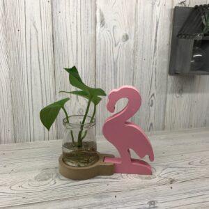 Hydroponic Home Decor Pink Flamingo Pot Hydroponic Home Décor Pots