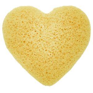 Konjac Heart Sponge Peach Natural Japan Style Konjac Sponges