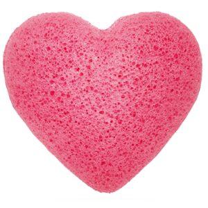 Konjac Heart Sponge Rose Natural Japan Style Konjac Sponges