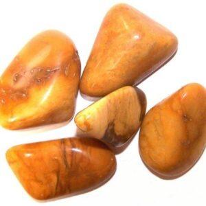 L Tumble Stones Jasper Yellow Large Tumble Stones