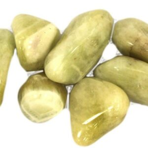 L Tumble Stones Prasiolite Large Tumble Stones