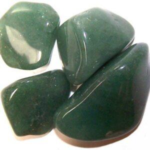 L Tumble Stones Quartz Green Large Tumble Stones