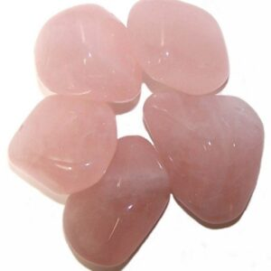L Tumble Stones Rose Quartz Large Tumble Stones