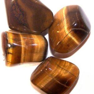 L Tumble Stones Tiger Eye Gold Large Tumble Stones