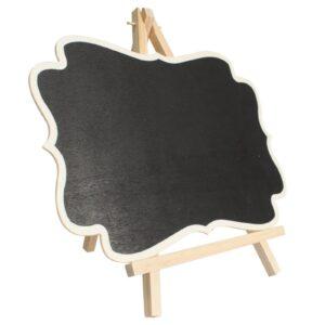 Large Blackboard Fixed on Stand Retail POD Blackboards