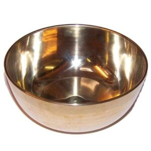 Large Brass Sing Bowl 17cm Tibetan Singing Bowls