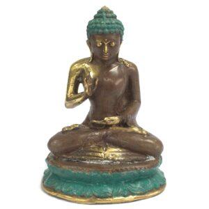 Large Sitting Buddha Brass Fengshui Objects